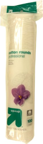 Premium Cotton Rounds - 100ct - up & up™