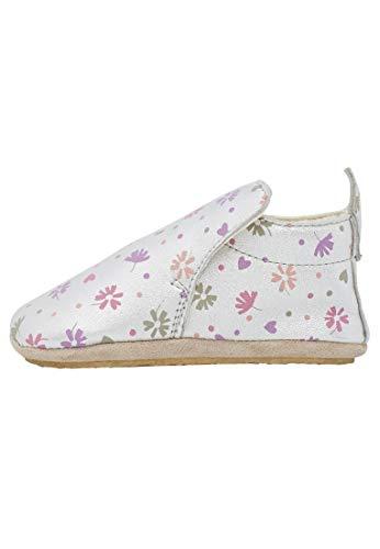 Naturino PLUMARD-- Zapatos de parque de piel de napa estampada, (plata), 20 EU