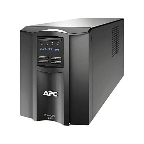 APC SMT1500I Smart-UPS SMT Tower Gruppo di Continuità 1500 VA, Line Interactive, AVR, 8 Uscite IEC-C13, Software Shutdown Powerchute