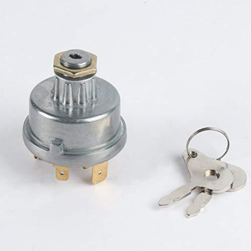 Hehilark 12239 - Conmutador de Encendido, Interruptor de Encendido de Arranque para Massey Ferguson para David Brown para John Deere