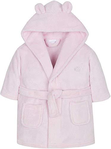 BabyTown Wunderschön Baby ankleiden Kleid in Entweder Pink oder blau Weicher Flauschiger Fleece - Rosa Elefant, 86-92