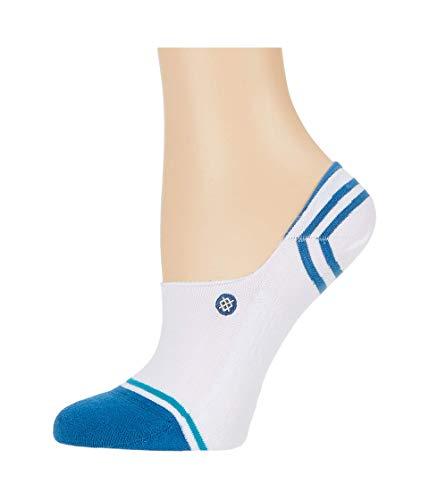 Stance Gamut 2 No Show Socks - White/Blue