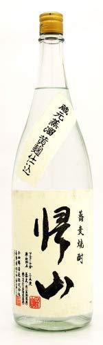 千曲錦酒造『帰山 そば焼酎』