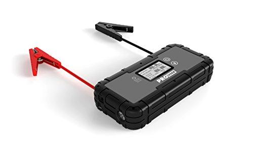 Pro-User 20145 SC800A Super Kondensator Jump Starter 12V und 800A Starthilfe, Schwarz