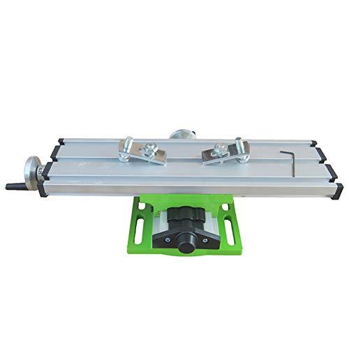 Power freesmachines, Mini multifunctionele glijdende freeswerkbank, freesmachine samengestelde boren glijbaan tafel voor bench boor aanpassing