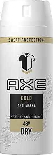 AXE Anti-Transpirant Deospray gegen Geruch und Achselnässe Gold 48-Stunden-Schutz, 3er Pack (3 x 150 ml)