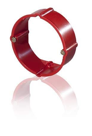 Signaldeckel für Gerätedose und Abzweigdose und/oder Putzausgleichsringe (Putzausgleichsring 24mm für Gerätedosen ø60mm, 10 Stück)
