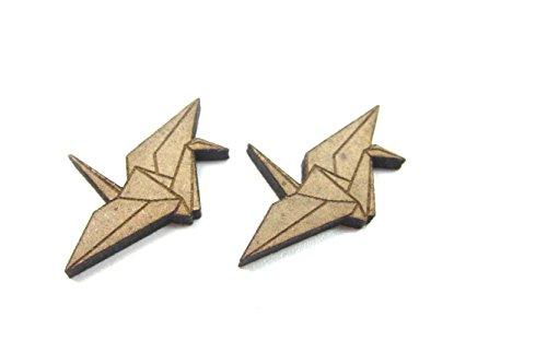 'Papiervögelchen ' Modeschmuck Ohrstecker Ohrringe