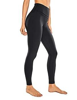 CRZ YOGA Women s Naked Feeling I High Waisted Yoga Pants Full-Length Leggings Camo - 28 Inches Black 28   X-Large