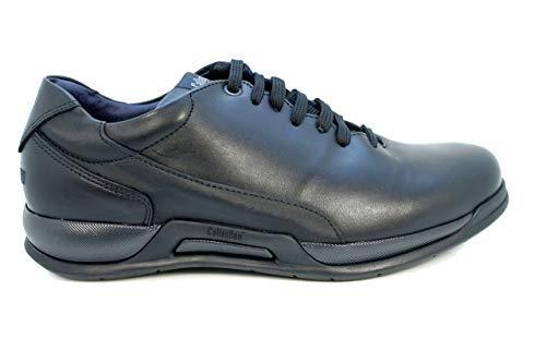Callaghan 83209 Bat Zapato Hombre Suela adaptación Negro 44 EU