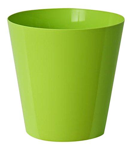 EURO3PLAST 2577/86 Vase Clivo, 18 x 18 x 18 cm, pièces de 24, Vert Acide