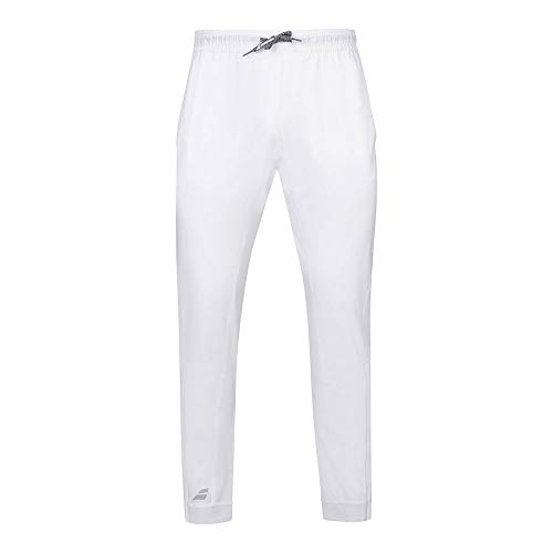 Babolat Play Pant Men Pantalón, Hombre, White/White, XXL