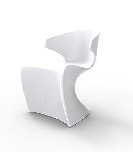 Vondom Chaise Wing - Blanc, Brillant