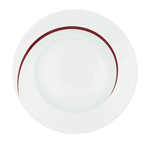 Suppenteller rund 22,5 cm 6 Stück Paso Bossa Nova 23627 von Seltmann Weiden