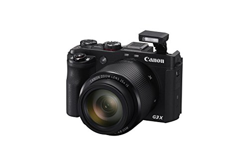 Canon PowerShot G3 X Digital Camera w/ 1-Inch Sensor and 25x Optical Zoom - Wi-Fi &...