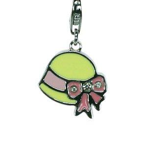 Charms for Kids - Hut in 4 verschiedenen Farben - für Bettelarmband mit Karabiner - für Kinder (Gelb)
