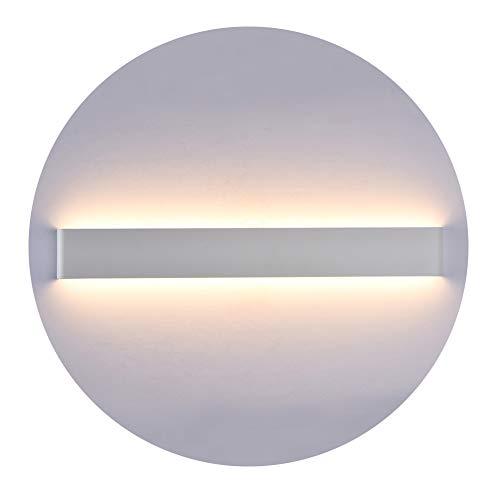 K-Bright - Lampada da parete moderna a LED, 61 cm, 20 W, luce bianca calda 3000 K, impermeabile IP 44, AC, 85 V-265 V, angolo del fascio luminoso 120°, funzione Up e Down