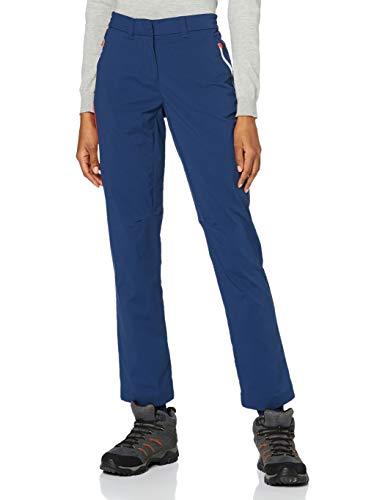 Jack Wolfskin 1506141 Overland Pantalones Mujer, Mujer, Azul Oscuro, 38