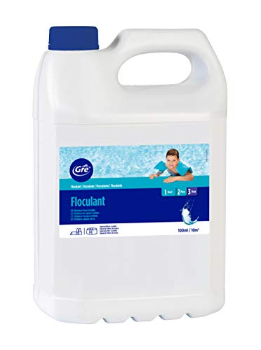 Gre 76010 - Floculante líquido, acción clarificadora del agua, 5 l