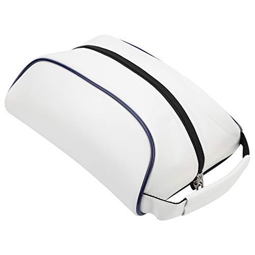Bicaquu Golf Aufbewahrungstasche, Schuhtasche, Der Reißverschluss ist glatt Großraum Feines Ledermuster für Reisetaschen Sporttaschen
