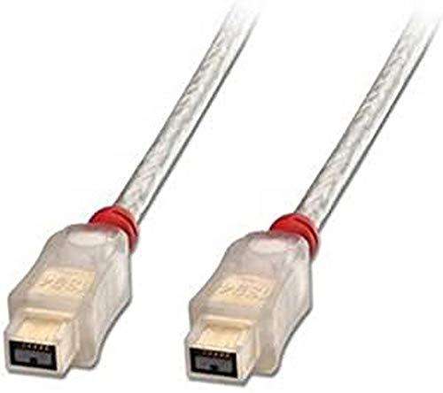 Lindy 30754 - Cable FireWire 800 premium, 9 pines beta macho a 9 pines beta macho, 0.3 m