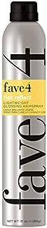 fave4 hair Flex Reflect Lightweight Glossing for Unisex Hair Spray, 10 Ounces
