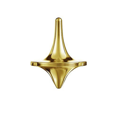 ForeverSpin 24kt Gold Plated(Brush-Finish) Spinning Top - World Famous...