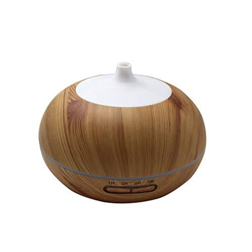 LuxTai geurdispenser voor etherische olie, 300 ml, ultrasone aromatherapie, geurdispenser voor oliën, met instelbare modus, zonder water Licht