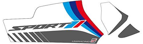 R1200GS ADV Blanco Sport Uniracing K47949 Kit de decoraci/ón y protecci/ón basculante para BMW 13 R1250GS-Adv LC 14-18 19-20