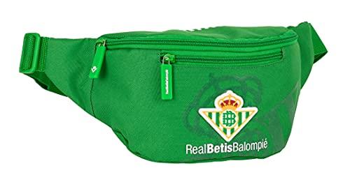 safta Riñonera con Bolsillo Exterior de Real Betis Balompié, 230x90x120 mm