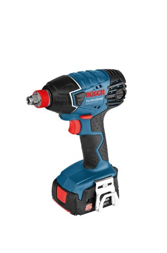 Bosch GDX 14,4 V-LI Professional - Atornillador de impacto (14.4 V, Ión de litio, 166 mm, 242 mm, 1.5 kg) Negro, Azul