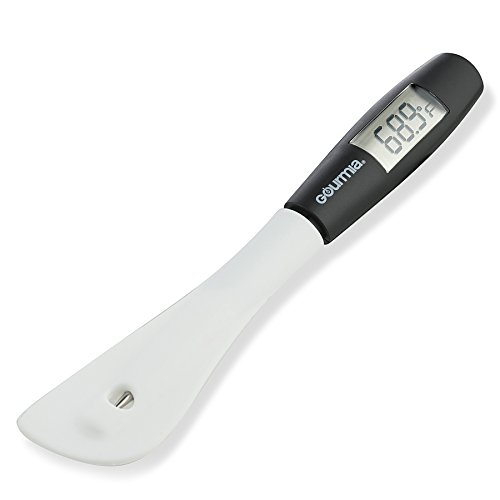 Gourmia GTH9180 Digital Spatula Thermometer Cooking & Candy Temperature Reader & Stirrer in One, Durable BPA free food safe material