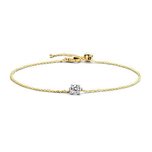 Blush 14 Karaat Gouden Armband 2166BZI (Lengte: 18.00 cm)