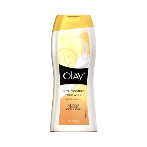 Olay Body Ultra Moisture Body Wash With Shea Butter, 12 fl oz (354 ml) by Olay