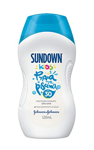 Protetor Solar Praia e Piscina Sundown Kids FPS 30, 120ml