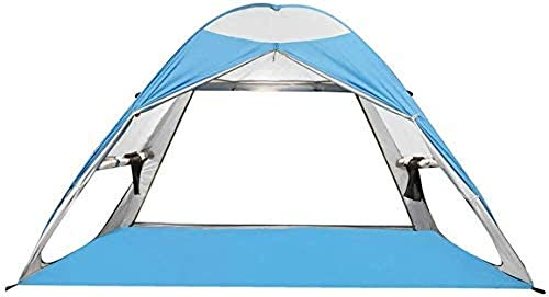 DS YQDSY Beach Camping Tent Pop up Automatic Tent Upf above 50 Waterproof 2-4 People Hiking Tent Lightweight Hiking Tent/As Shown