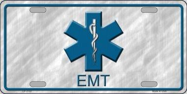 EMT Metal Novelty License Plate LP-2132