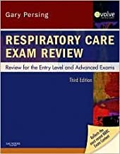 Respiratory Care Exam Review 3th (third) edition Text Only
