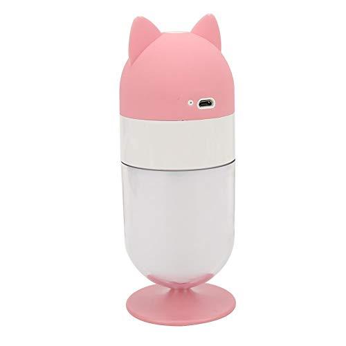 Mini pulvérisateur mignon pour apaiser la peau, nettoyer la peau et améliorer la peau sèche, avec forme de motif renard et arrêt automatique, adapté à la pièce, etc. à l'extérieur