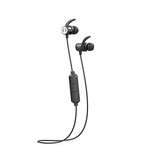 31KulyvjJ+L. SL500  - Bluetooth Headphones, Anbes Wireless Earbuds, IPX7 Waterproof Sports Earphones with Ear Hooks & Mic, HD Stereo in-Ear Headphones Gym Running Workout, 8 Hours Battery Noise Canceling Headsets