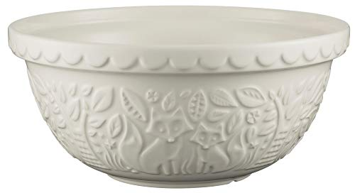 Mason Cash Fox Embossed Mixing Bowl - 4.25 Quart