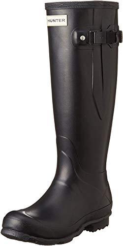 Hunter Field Norris Side Adjustable Ladies Wellington Boot UK5 EU38 US7 Black