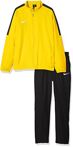 Nike Jungen Y NK Dry ACDMY18 TRK Suit W Tracksuit, Tour Yellow/Black/Anthracite/(Black), L