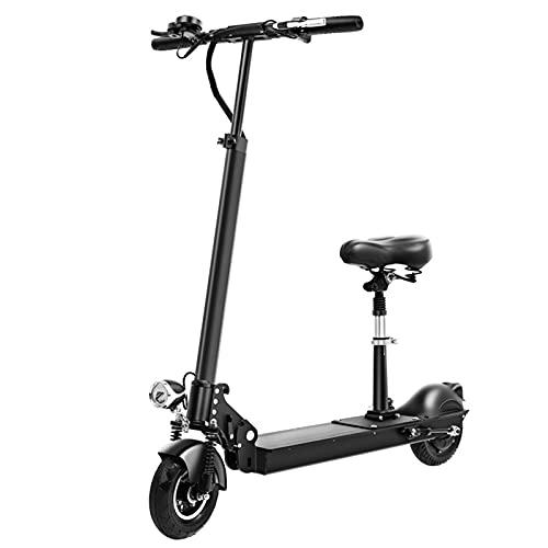 Patinete Eléctrico, Mini scooter eléctrico plegable adultos con asiento ergonómico, 8