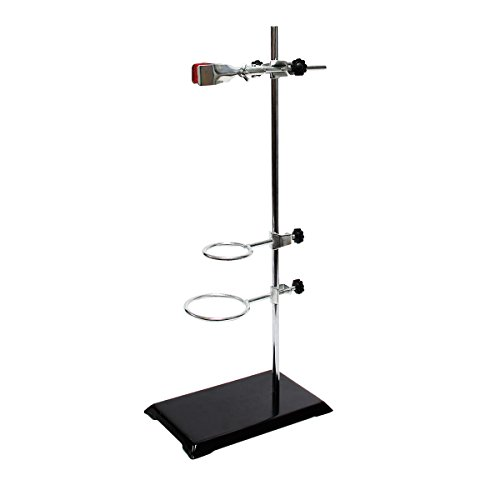 Wisamic Chemistry Laboratory Stand Set, with Support Stand (8.3
