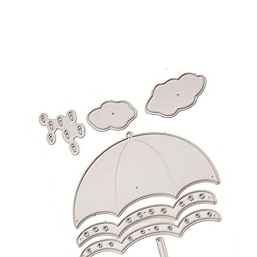 Dies coupe en acier au carbone Stencil bricolage embosser album Paper Craft Card Umbrella moule Presse moule en acier Carte Décor Artisanat embosser bricolage Matériaux durables
