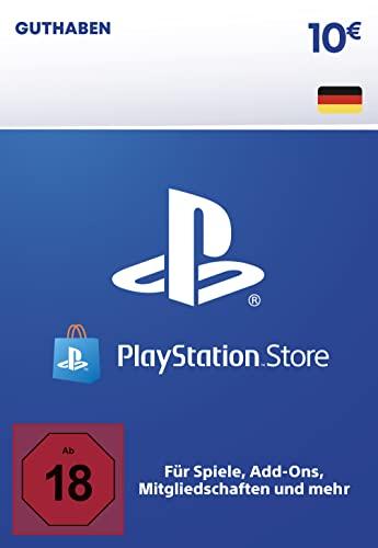 PSN Guthaben-Aufstockung   10 EUR   deutsches Konto   PS5/PS4 Download Code