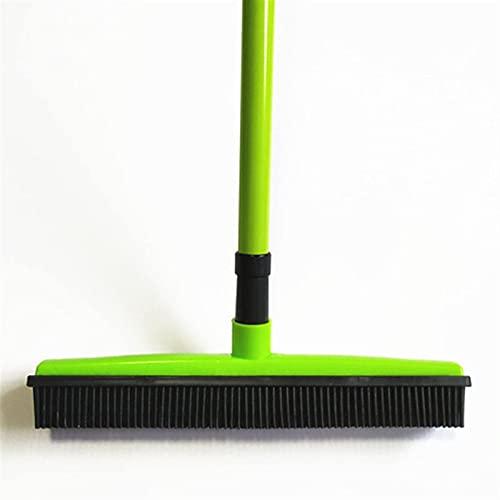Aiutante nelle faccende domestiche Rubber Broom Hair Rimozione dei capelli Dispositivo di rimozione telescopica Setole telescopiche Magic Pulire Sweeper Sweegee Brusco Setola Push Push Broom (Colore: