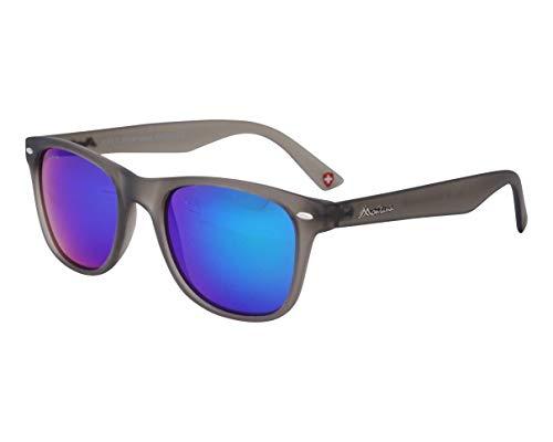 montana occhiali sole Occhiali da sole Montana (MS 10 B) Grigio Trasparente Plum Mirror B Plastica Grigio Trasparente Prugna - Specchio