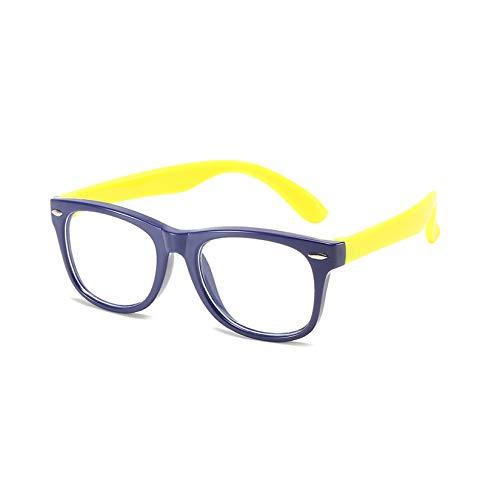 LORIEL Blaue Licht blockierende Gläser für Kind, Anti Eyestrain, Computerlesung, TV-Gläser, Anti-Blendung - 8 Farben (2 Packungen),G